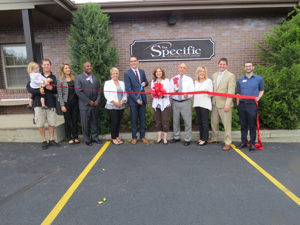 THE SPECIFIC CHIROPRACTIC CENTER RIBBON CUTTING