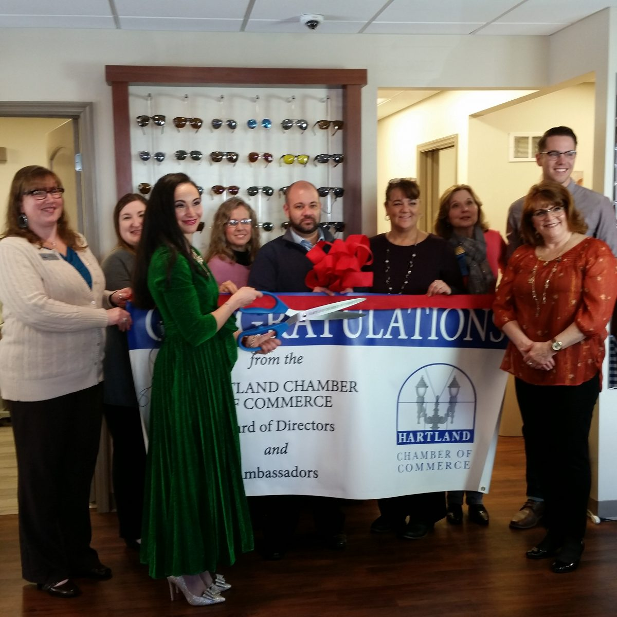 GRAND OPENING RIBBON CUTTING – THEIA VISION CARE