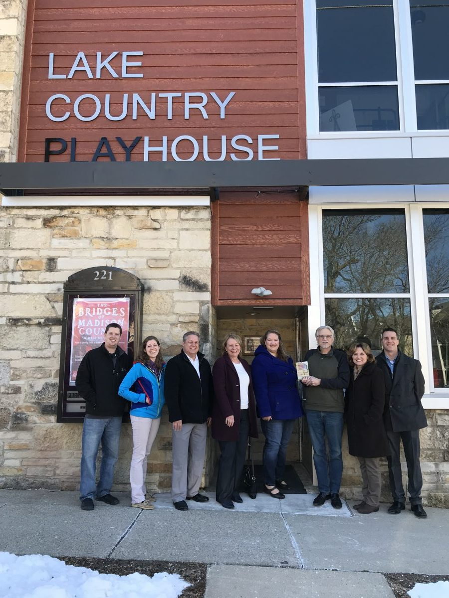 CONGRATULATIONS TO THE HARTLAND CHAMBER GOLDEN HAMMER AWARD WINNER – LAKE COUNTRY PLAYHOUSE!!!