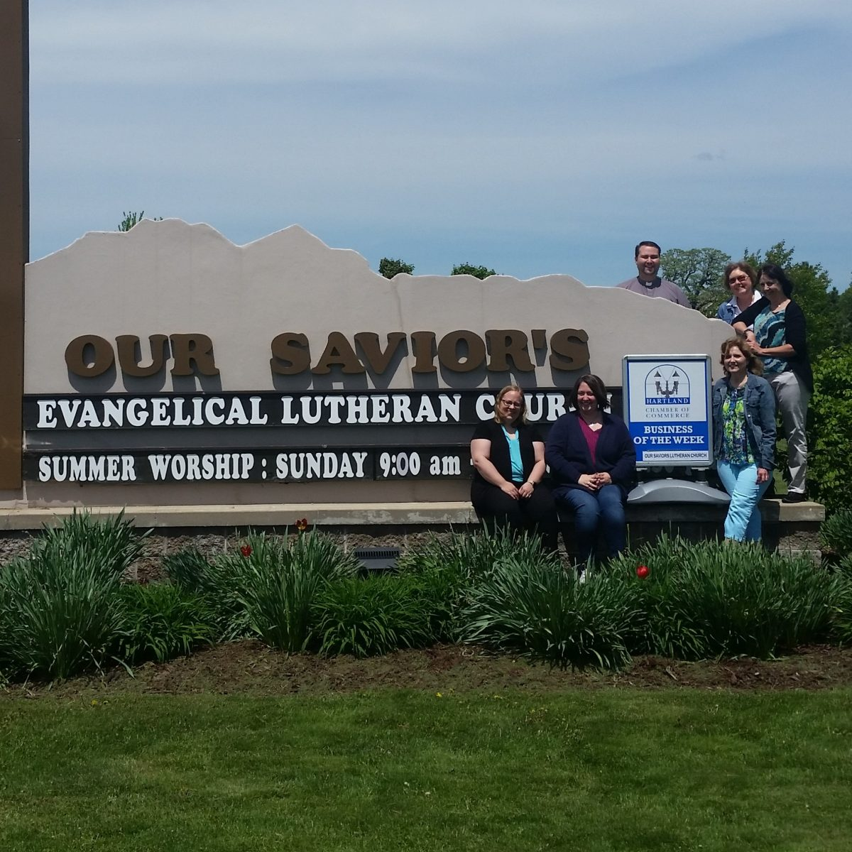 CONGRATULATIONS TO HARTLAND CHAMBER BUSINESS OF THE WEEK – OUR SAVIOR'S EVANGELICAL LUTHERAN CHURCH