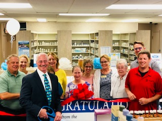 HARTLAND CHAMBER RIBBON CUTTING – HOMETOWN PHARMACY