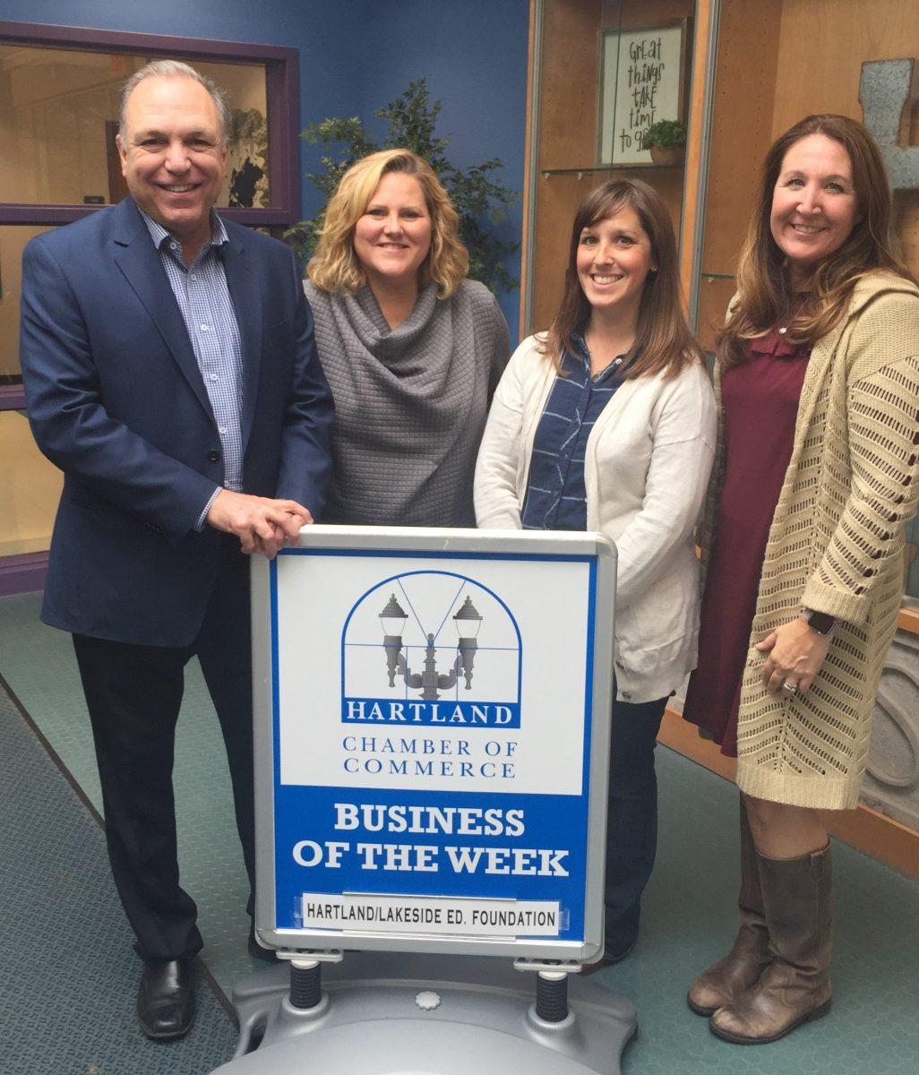 MEET HARTLAND CHAMBER BUSINESS OF THE WEEK – HARTLAND/LAKESIDE EDUCATION FOUNDATION