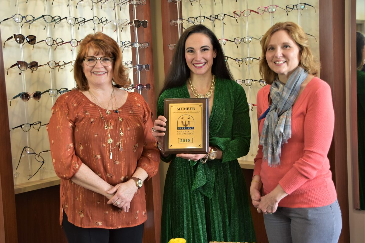 MEET NEW HARTLAND CHAMBER MEMBER – THEIA VISION CARE