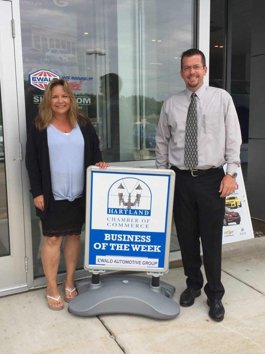 CONGRATULATIONS TO THE CHAMBER BUSINESS OF THE WEEK – EWALD AUTOMOTIVE GROUP!