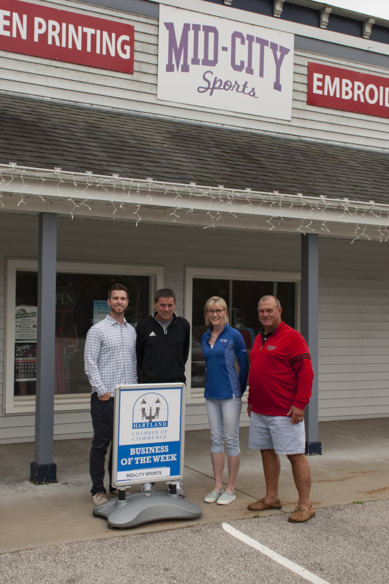 CONGRATULATIONS TO THE CHAMBER BUSINESS OF THE WEEK – MID-CITY SPORTS!