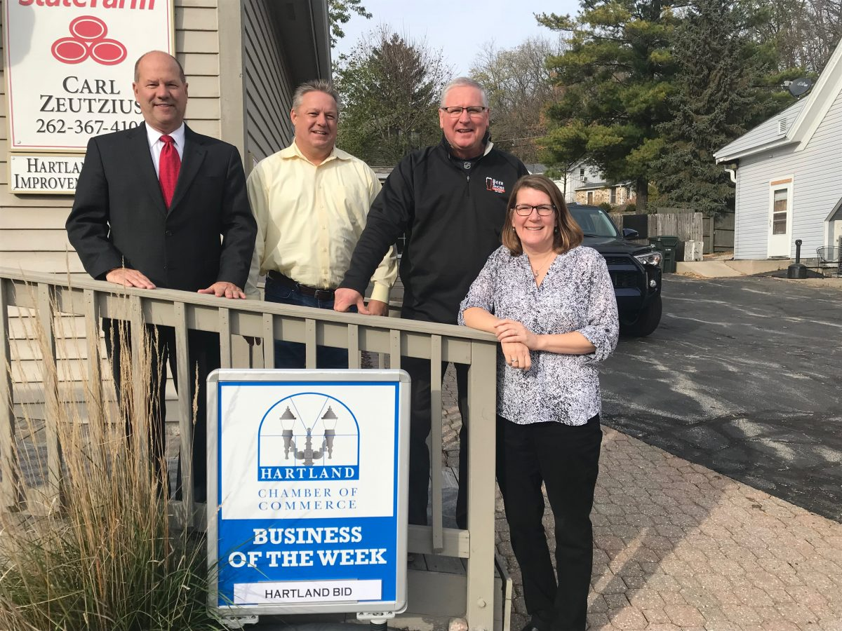 CONGRATULATIONS TO THE CHAMBER BUSINESS OF THE WEEK – THE HARTLAND IMPROVEMENT DISTRICT (BID)