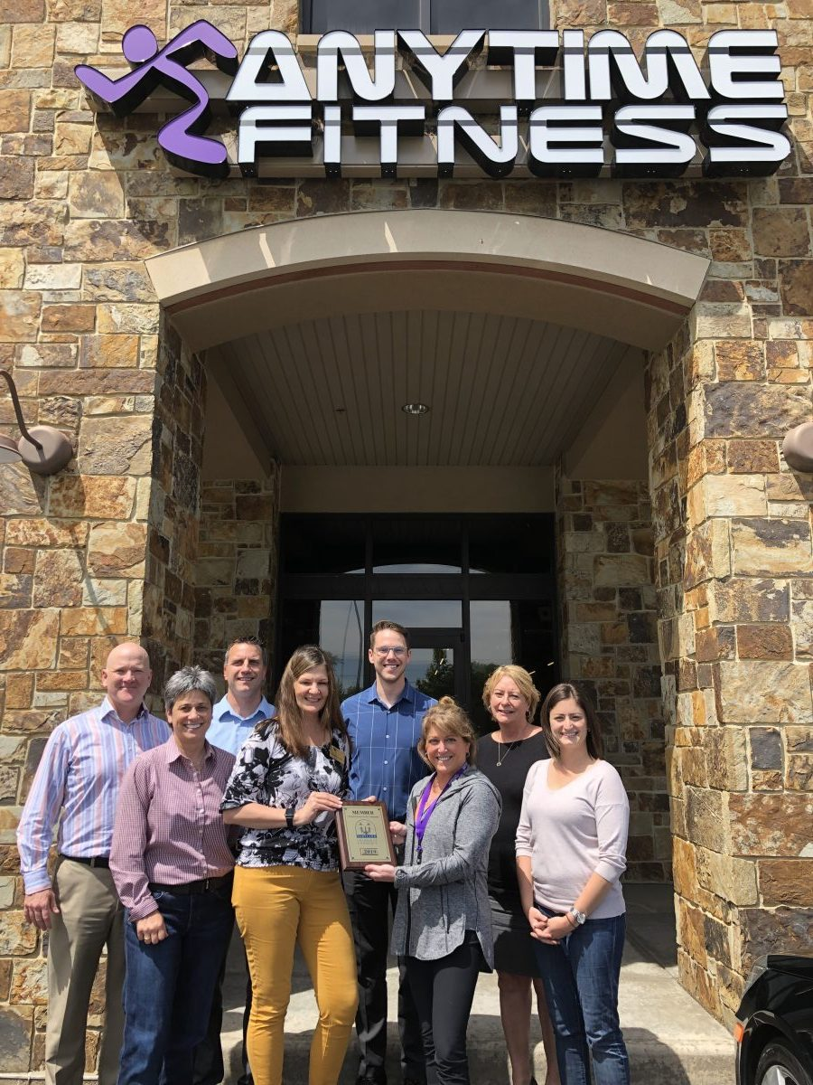 WELCOME NEW CHAMBER MEMBER – ANYTIME FITNESS!