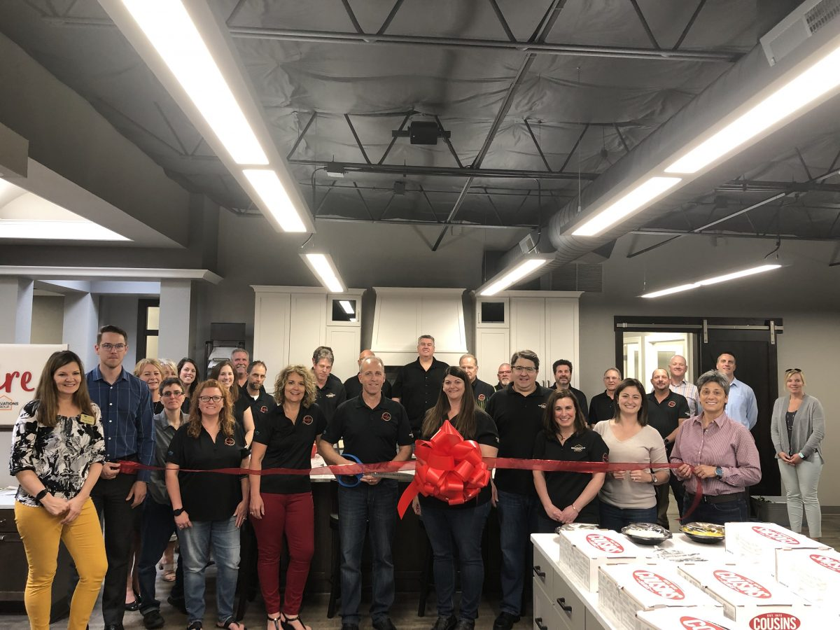 THE HARTLAND CHAMBER HOSTED A RIBBON CUTTING CEREMONY FOR NEW CHAMBER MEMBERS ESPIRE HOMES AND RENOVATIONS GROUP, INC!