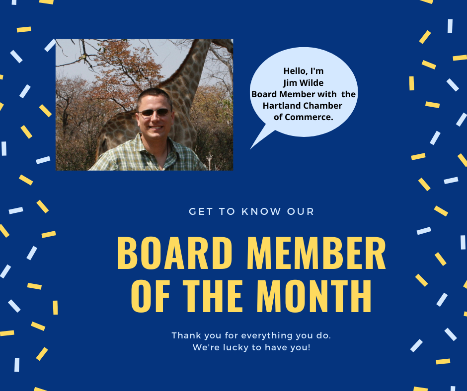 GET TO KNOW CHAMBER BOARD MEMBER – JIM WILDE OF LAKE COUNTRY TRAVEL & ENTOURAGE EXPEDITIONS!