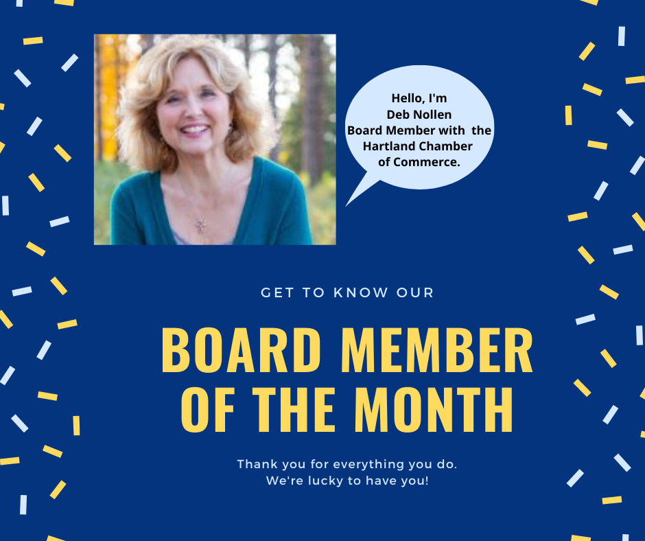 READ ABOUT OUR DYNAMIC BOARD MEMBER – DEB NOLLEN!