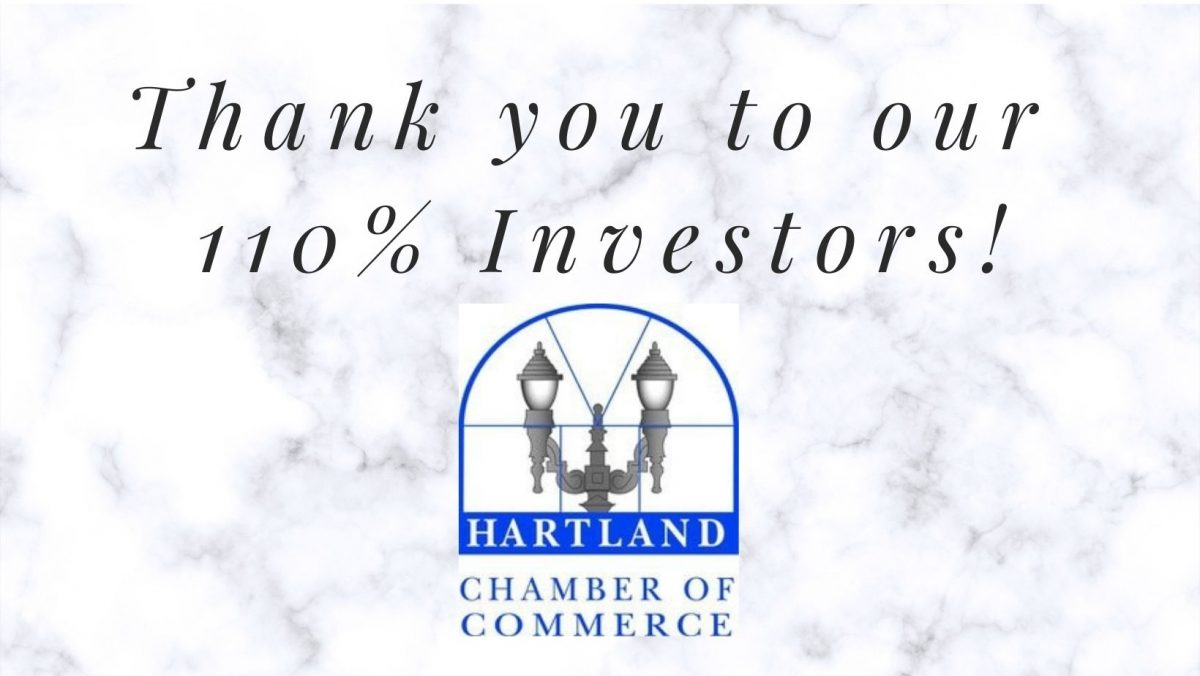 We would like to thank and acknowledge some of our chamber members who invested 110% in their chamber membership for 2021.