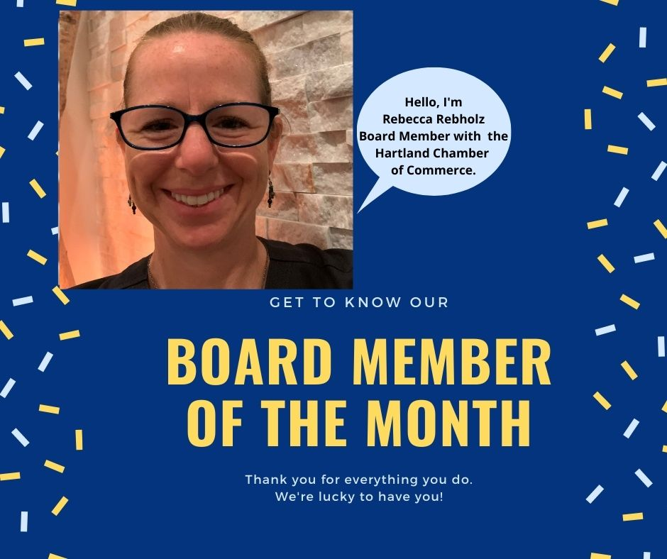 WE ARE PLEASED TO INTRODUCE BOARD MEMBER REBECCA REBHOLZ OF GET SALTY & LIT!!!